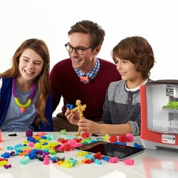 ThingMaker(TM) 3D Printer and ThingMaker Design(TM) App Eco-System (PRNewsFoto/Mattel, Inc.)